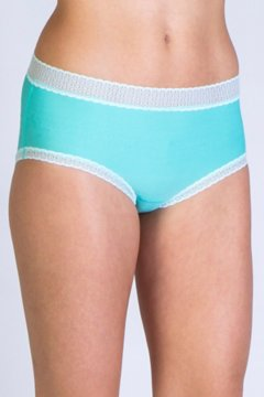 Give-N-Go Lacy Full Cut Brief, Isla, medium
