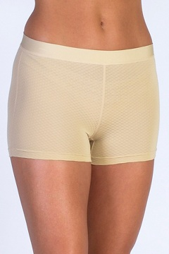 Give-N-Go Sport Mesh 2'' Boy Short, Nude, medium