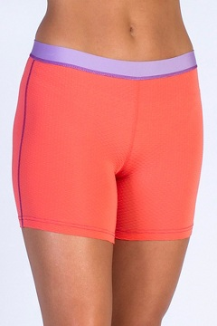 Give-N-Go Sport Mesh 4'' Boy Short, Hot Coral, medium