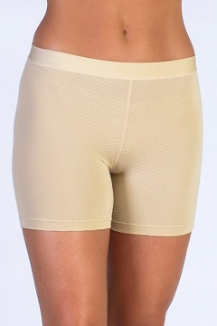 Give-N-Go Sport Mesh 4'' Boy Short, Nude, medium
