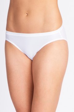 Give-N-Go Hi Cut Brief, White, medium