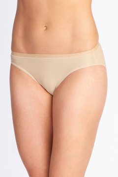 Give-N-Go Hi Cut Brief, Nude, medium