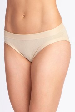 Give-N-Go Sport Mesh Hi Cut Brief, Nude, medium
