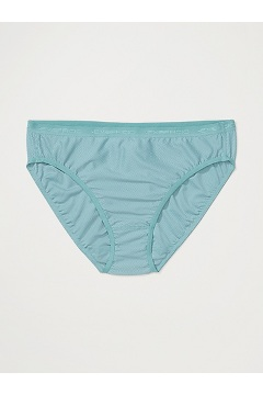Women's Give-N-Go Bikini Brief, Trellis, medium
