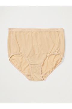 Women's Give-N-Go Full Cut Brief, Nude, medium