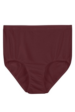Women's Give-N-Go Full Cut Brief, Crimson, medium