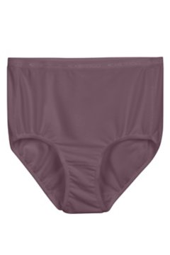 Give-N-Go Full Cut Brief, Mattemauve, medium