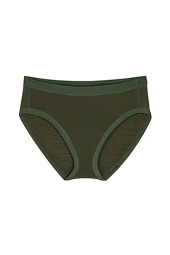 Women's Give-N-Go Sport Mesh Bikini Brief, Nori, medium