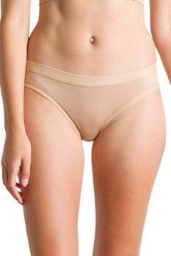 Give-N-Go Sport Mesh Bikini Brief, Buff, medium