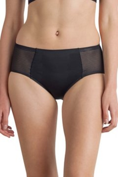 Modern Travel Brief, Black, medium