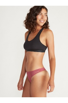 Women's Modern Collection Thong, Buff, medium