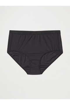 Women's Give-N-Go 2.0 Full Cut Brief, Black, medium