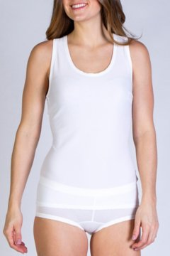 Give-N-Go Sport Mesh Tank, White, medium