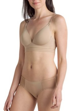 Modern Travel Bra, Buff, medium