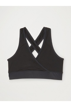 Women's Give-N-Go Sport Mesh Bralette, Black, medium
