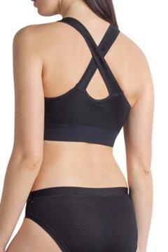 Give-N-Go Sport Mesh Bralette, Black, medium
