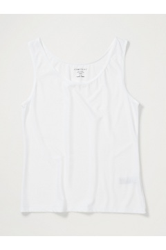 Women's Give-N-Go Tank, White, medium