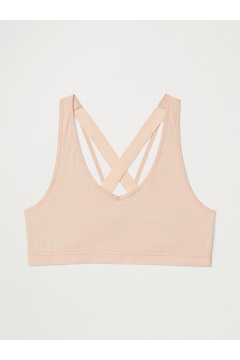Women's Give-N-Go 2.0 Sport Mesh Bralette, Buff, medium