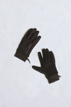 Touchscreen Stretch Gloves, Black, medium