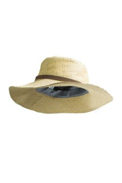Sol Cool Raffia Sun Hat, Tawny, medium
