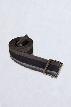 Web Belt, Black Stripe, medium