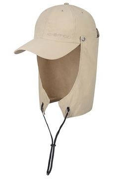 BugsAway Sol Cool Cape Hat, Tawny, medium