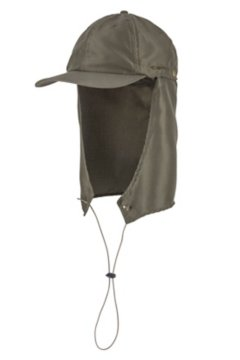 BugsAway Baja Cape Hat, Nori, medium