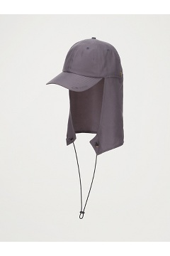 BugsAway Baja Cape Hat, Steel Onyx, medium