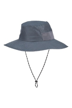 BugsAway Baja Sun Hat, Steel Onyx, medium