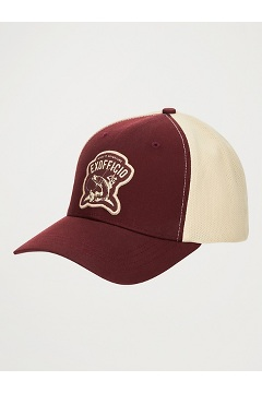 BugsAway ExOfficio Trucker Hat, Redwood/Walnut, medium