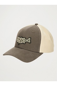 BugsAway ExOfficio Trucker Hat, Walnut Brown/Sand Storm, medium