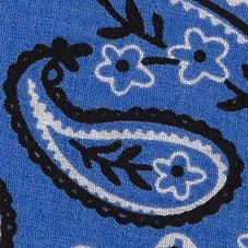 BugsAway Woven Bandana, Lobelia, swatch