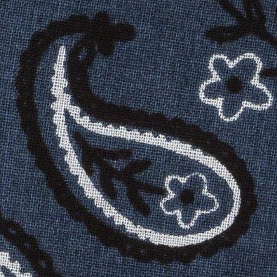 BugsAway Woven Bandana, Navy, swatch