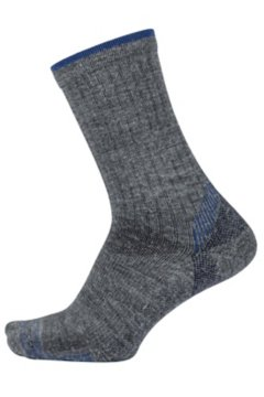 BugsAway Solstice Canyon Crew Sock, Grey Heather, medium