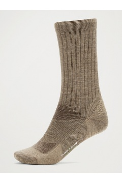 Women's BugsAway Solstice Canyon Crew Socks, Walnut Brown/Tawny, medium
