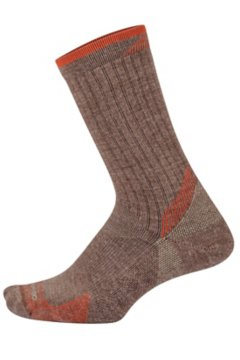 BugsAway Solstice Canyon Crew Sock, Oatmeal Heather, medium