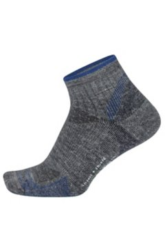 BugsAway Solstice Canyon Qtr Sock, Grey Heather, medium