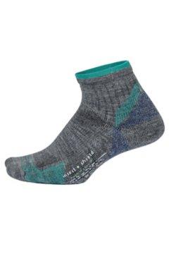 BugsAway Solstice Canyon Quarter Socks, Grey Heather, medium