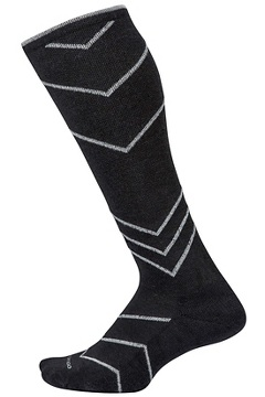 Women's BugsAway Compression Socks, Black, medium