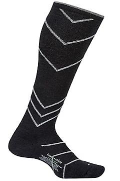 Women's BugsAway Compression Socks, Black, medium