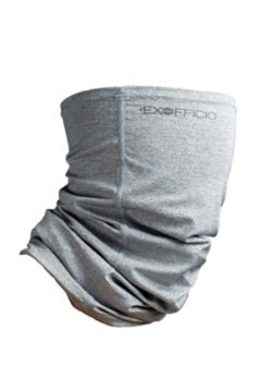 BugsAway Sol Cool Knit Neck Gaiter, Carbon, medium
