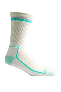 BugsAway Adventure Crew Sock, Lt Stone, medium