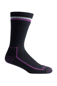 BugsAway Adventure Crew Sock, Black Heather, medium