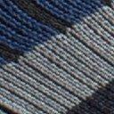 BugsAway Sol Cool Crew Sock, Navy Stripe, swatch