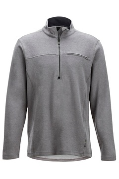 Caminetto 1/4 Zip Neck L/S, Grey Heather, medium