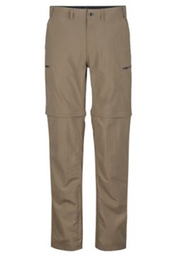 Sol Cool Camino Convertible Pant - Short, Walnut, medium