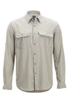 BugsAway Halo Check L/S, Khaki Check, medium