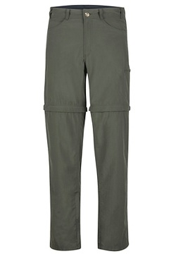 Men's BugsAway Sol Cool Ampario Convertible Pants, Nori, medium