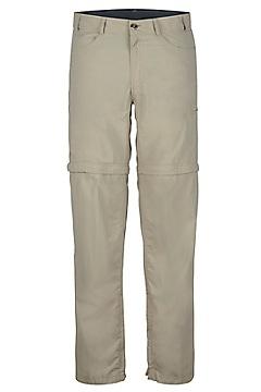 Men's BugsAway Sol Cool Ampario Convertible Pants, Lt Khaki, medium