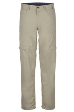 BugsAway Sol Cool Ampario Convertible Pants, Lt Khaki, medium